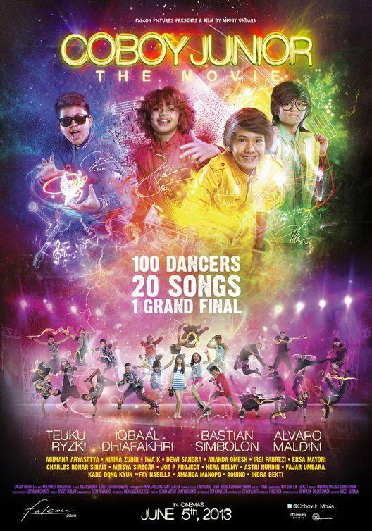 Coboy Junior The Movie 2013 Film Romantis Bioskop Poster Film