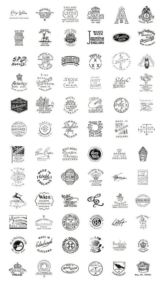 Vintage China Labels Design Pinterest Vintage China