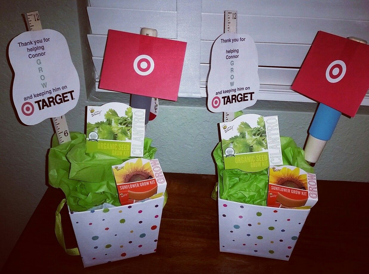 Teacher Appreciation Gift Thank You For Helping My Child Grow And Keeping Him On Target Target Gift C With Images Target Gift Cards Grow Kit Teacher Appreciation Gifts