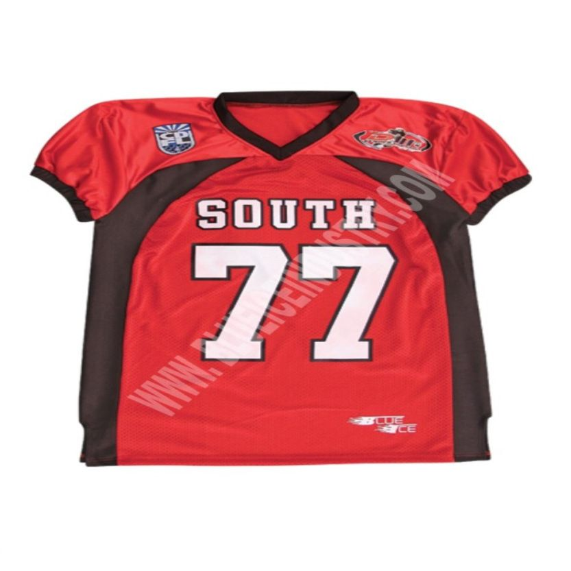 outlet store sale b02e2 82b10 CUSTOM TACKLE TWILL AMERICAN FOOTBALL JERSEY (READ 1 MINT ...