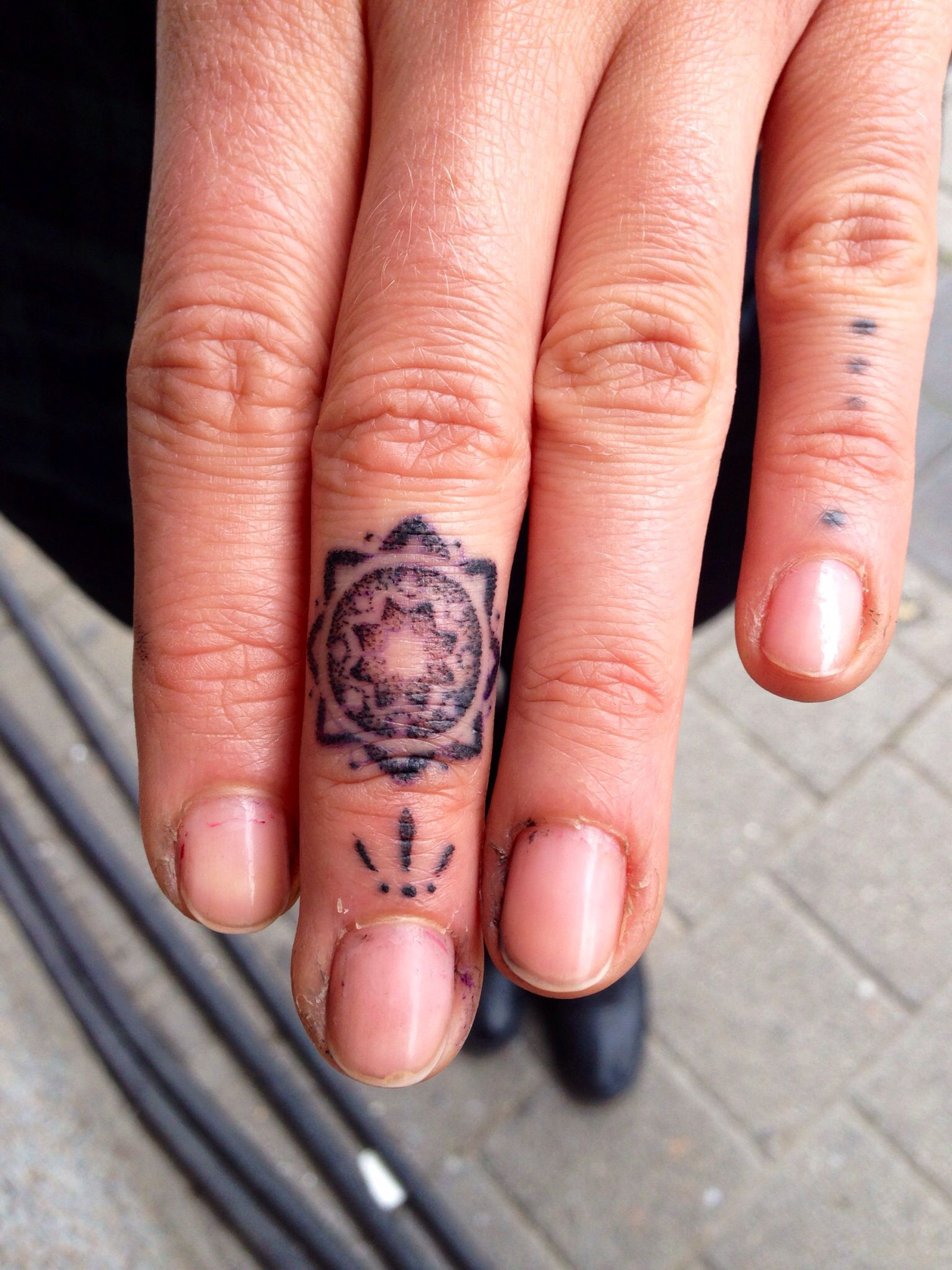 Mandala - Mario Sanchez | tattoo\'s | Pinterest | Mandala, Ring ...