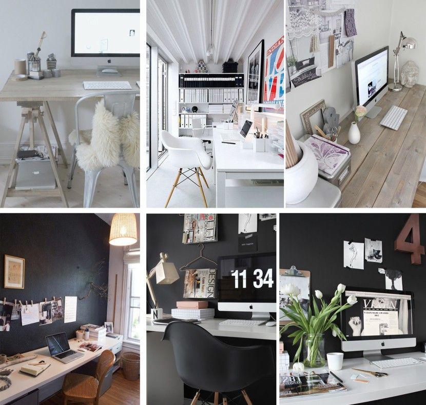 ideas para decorar un despacho pequeo en casa - Decoracion Despachos