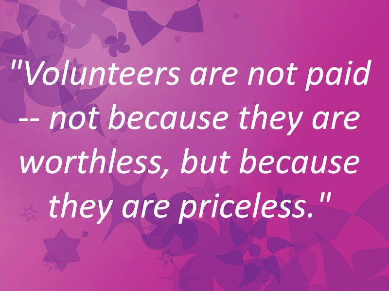Happy International Volunteer Day! Volunteer quotes