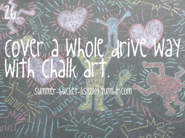 Chalk art | Chalk me! | Keith haring art, Chalk drawings ...