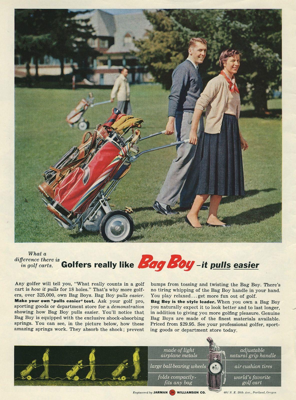 18++ Bag boy golf cart fan viral