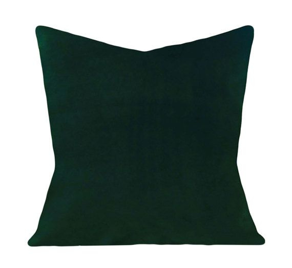 Best Emerald Green Velvet Pillow Cover Decorative Pillow 400 x 300