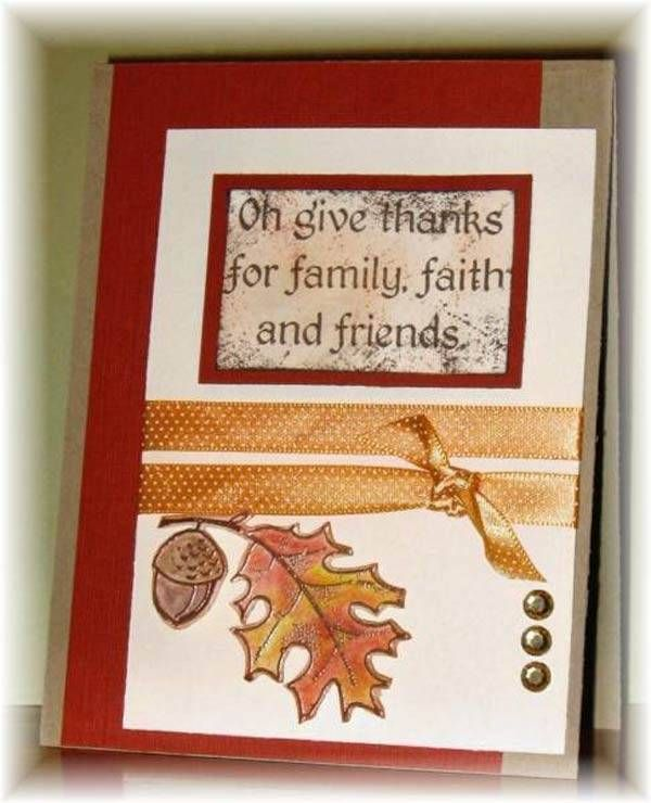 Thanksgiving Card Making Ideas Part - 43: Simple Thanksgiving Decorating Ideas