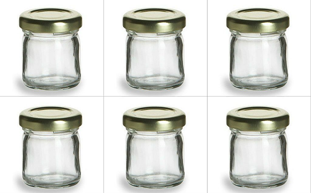 250 15 oz Mini Glass Jars for DIY Wedding jam jelly honey favors