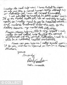 The letter written by daniel gonzalez asking broadmoor mental the letter written by daniel gonzalez asking broadmoor mental hospital for medical help for his schizophrenia he wanted to be the real freddy krueger altavistaventures Gallery