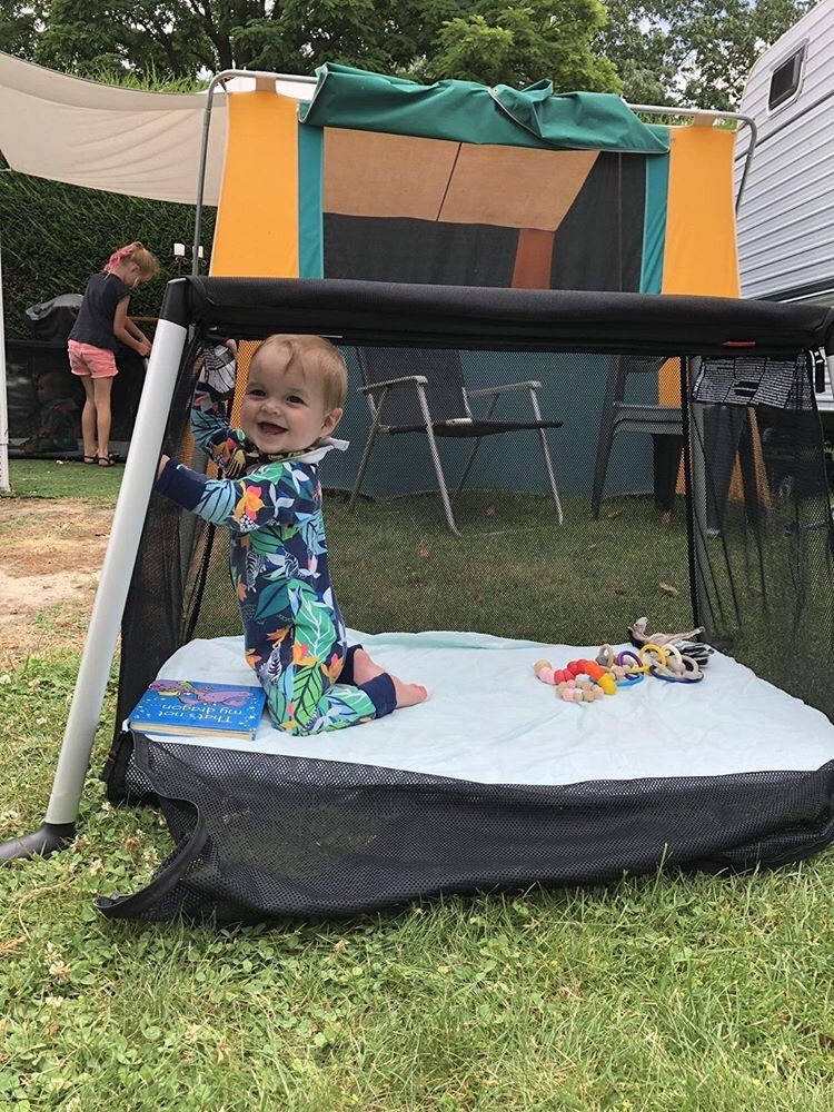 Traveller Travel Cot In 2020 Toddler Playpen Baby Outdoor Baby