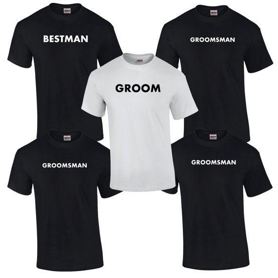 5 Bachelor Party T Shirts Mens Bridal Party Shirts Groomsmen Shirts Groom Shirt Best Man Shirt Groom Shirts Bachelor Party Gifts Bridal Party Shirts