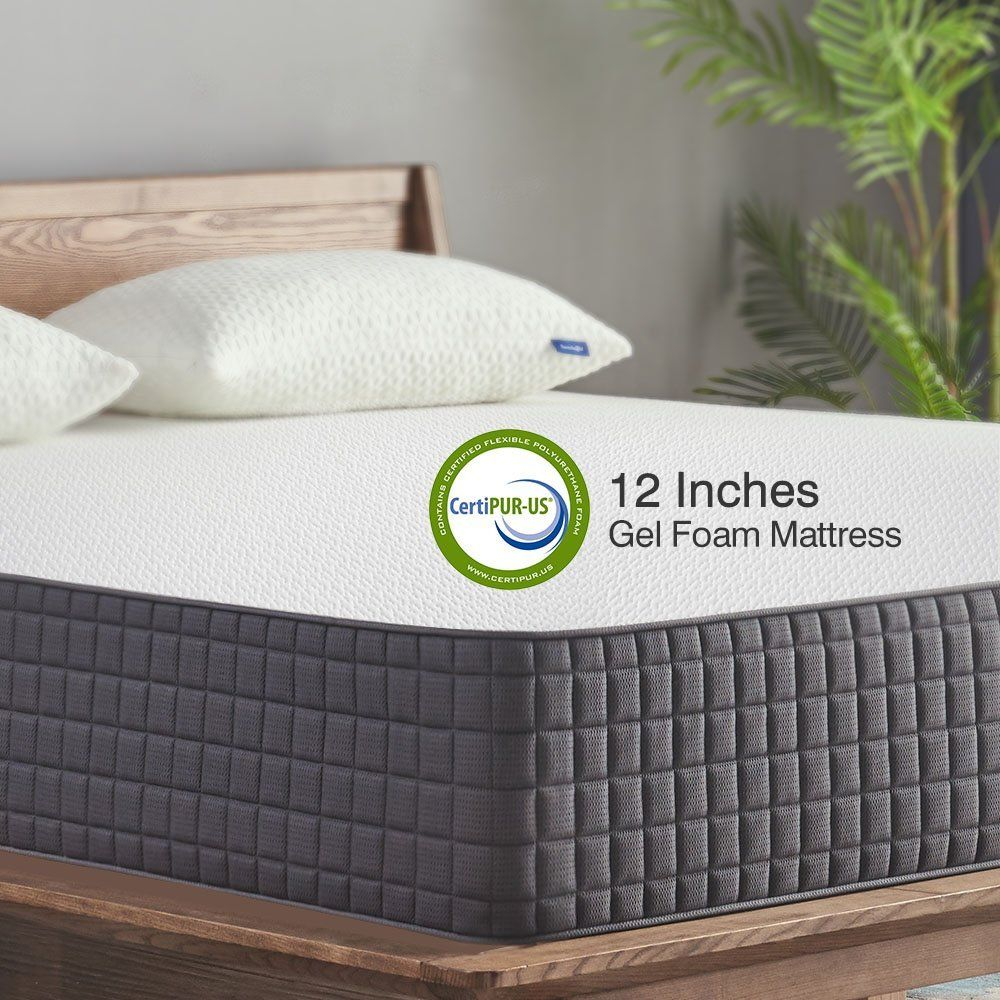 ad savings alert save 142 on 12 gel memory foam mattress with