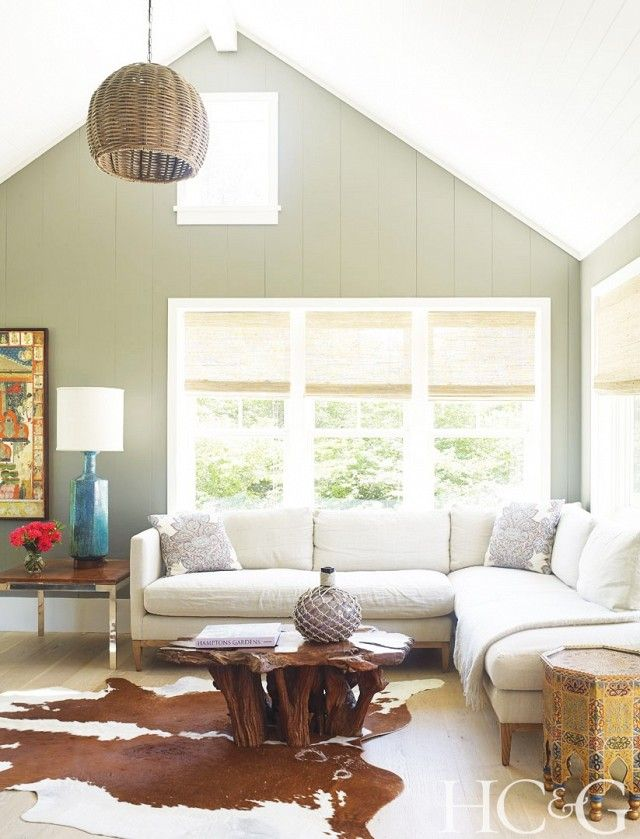 Inside the Stylish Makeover of a Sag Harbor Home Living spaces