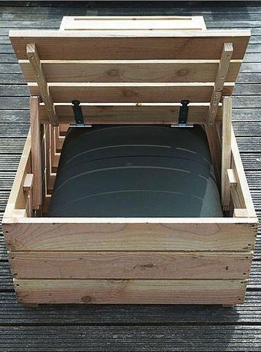 bain de soleil en palette de r cup r cup palettes en. Black Bedroom Furniture Sets. Home Design Ideas