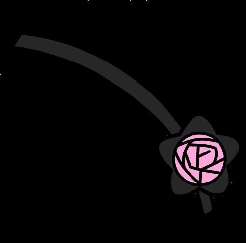 Freetoedit Eye Patch Eyepatch Flower Gacha Aesthetic Savage Pink Black Remixit Life Accessories Eyepatch Chibi Girl Drawings