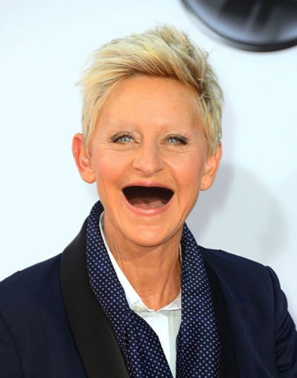 Celebrities Without Teeth And Eyebrows Boredom Bash Lolfr