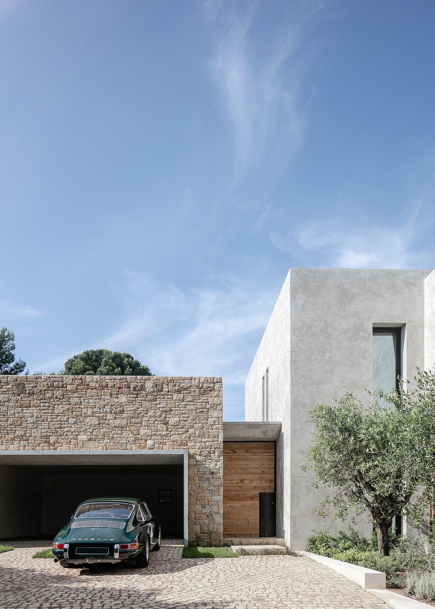 Construction Villa Cap d\'Antibes France par Caprini Pellerin ...