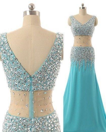 Sexy Prom Dresses From dressfashion.co.uk #bluedress #promdress #partydress #sexydress #fashion #like4like #like4follow #followback