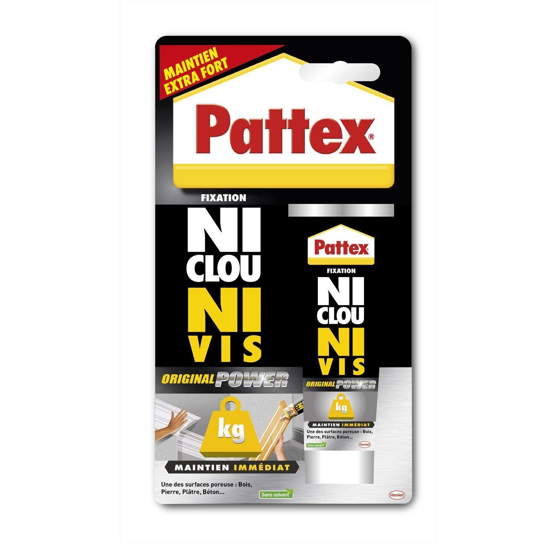 Colle Mastic Ni Clou Ni Vis Mega Power Pattex 52 G Collant Astuces Utiles Et Produits