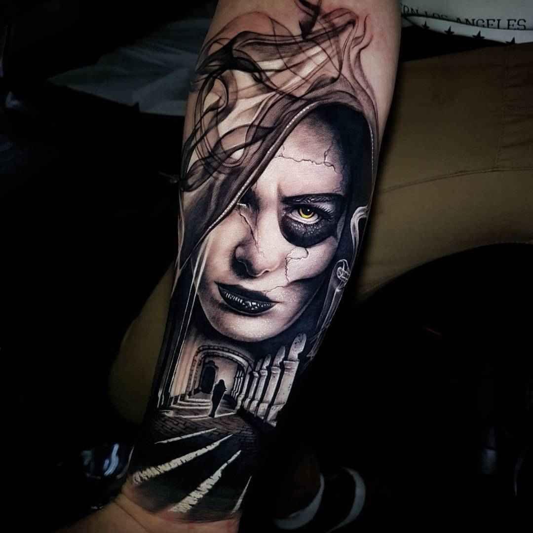 Portrait Realism By Benji Roketlauncha Ortega Tattoos Best Sleeve Tattoos Tattoo Artists