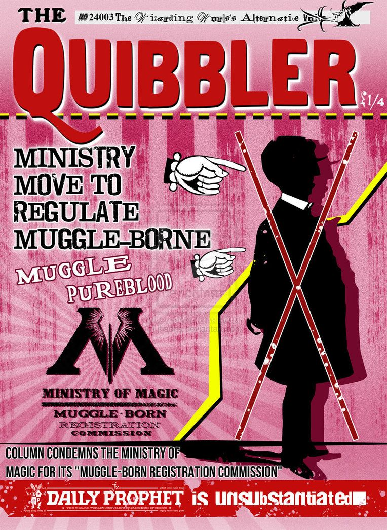 quibbler by ~jhadha | Daily Prophet | Harry potter ...Quibbler Printable Pages