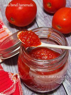 Saus Tomat Saus Tomat Resep Makanan Resep Vegetarian