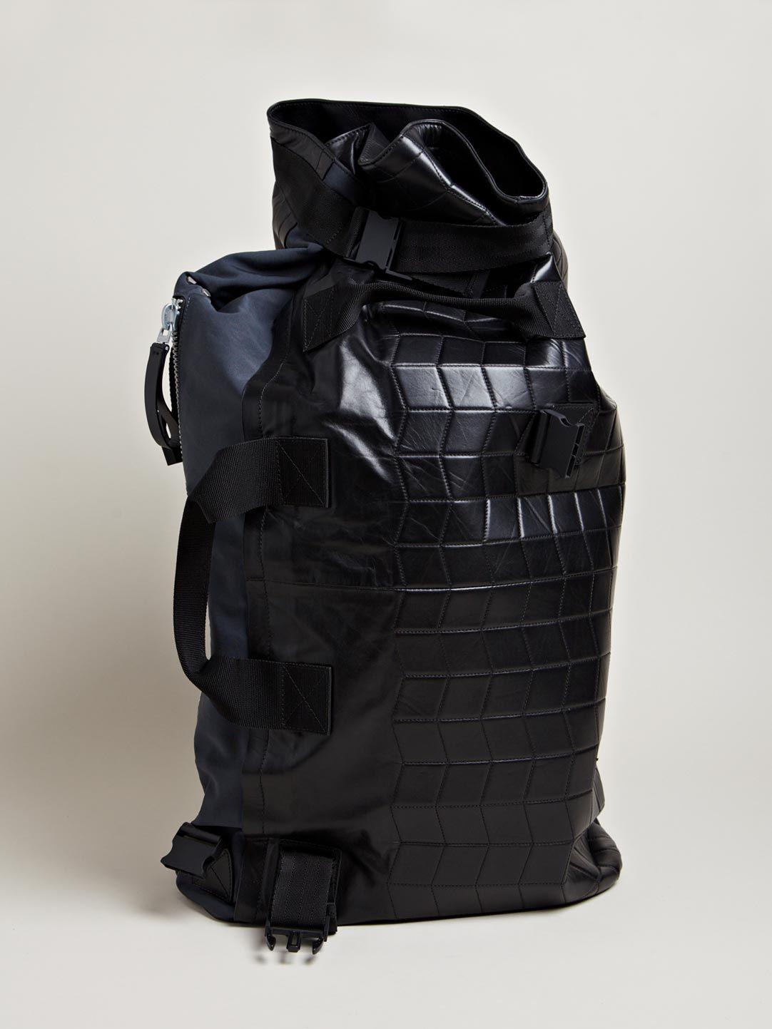 f3836ca8e168 Lanvin Men s Waterproof Duffel Bag Rucksack Backpack