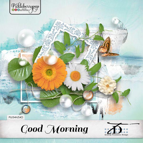 Good Morning~ elements pack by Tiramisu design