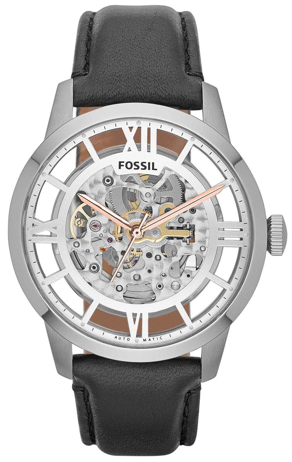 440a3d37ab9f  Fossil  Watches exclusively at  CapriJewelersArizona ~  www.caprijewelersaz.com ♥ Fossil ME3041 Townsman Skeleton Automatic