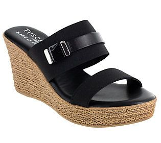 Sleek and chic, these lightweight wedges quickly become the pair you wear -- all the time. From Easy Street.