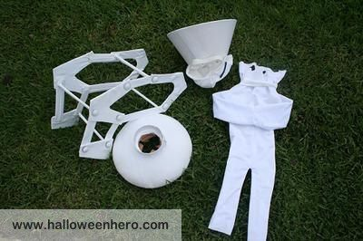 All The Parts To This Pixar Lamp Costume: DIY Pixar Lamp CostumeIntroducing  The Cute And