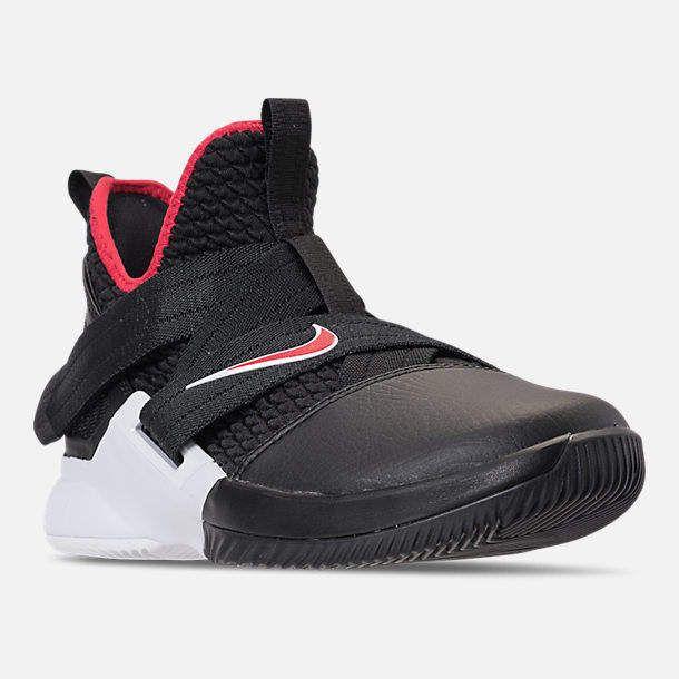 free shipping e7b5c f3a9a Boys' Big Kids' Nike LeBron Soldier 12 Basketball Shoes ...