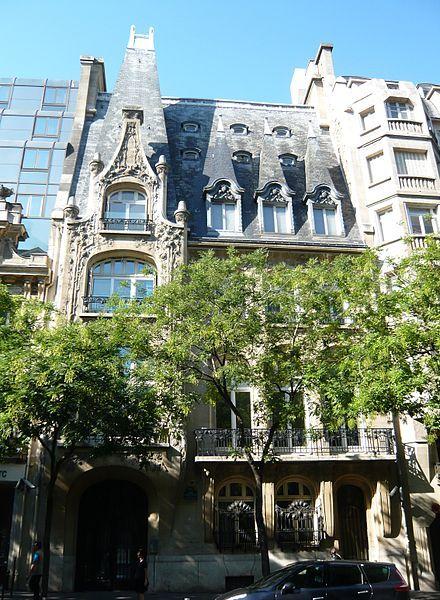 Hôtel Pauilhac, 59 avenue Raymond Poincaré, Paris 16e