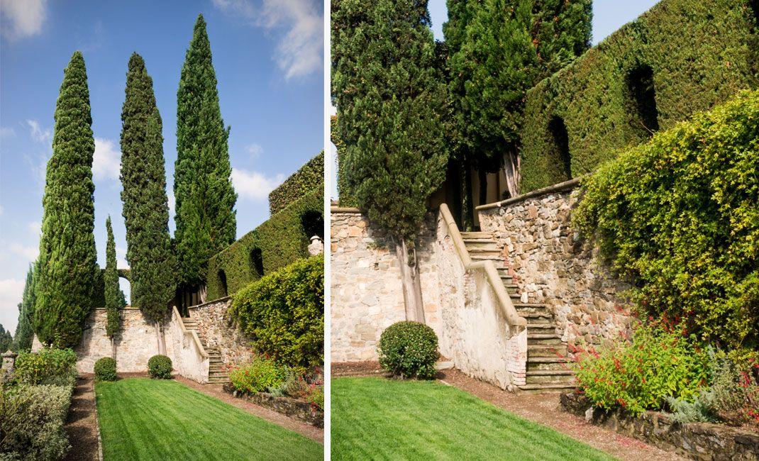 giardino di villa le balze fiesole giardini e parchi