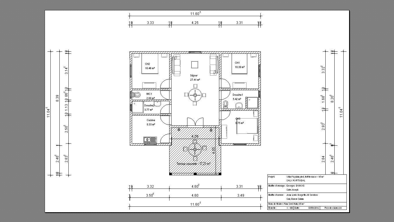 Resultat De Recherche D Images Pour Plan Maison Sur 300m2 De Terrain