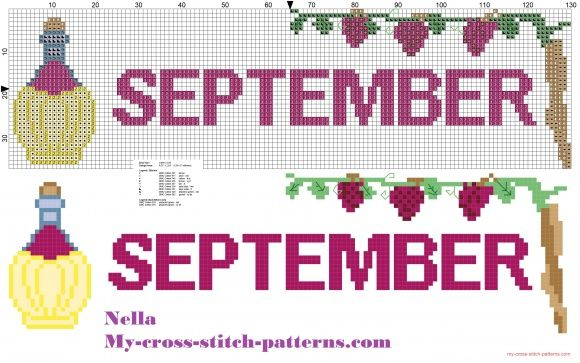 Dish towels month september