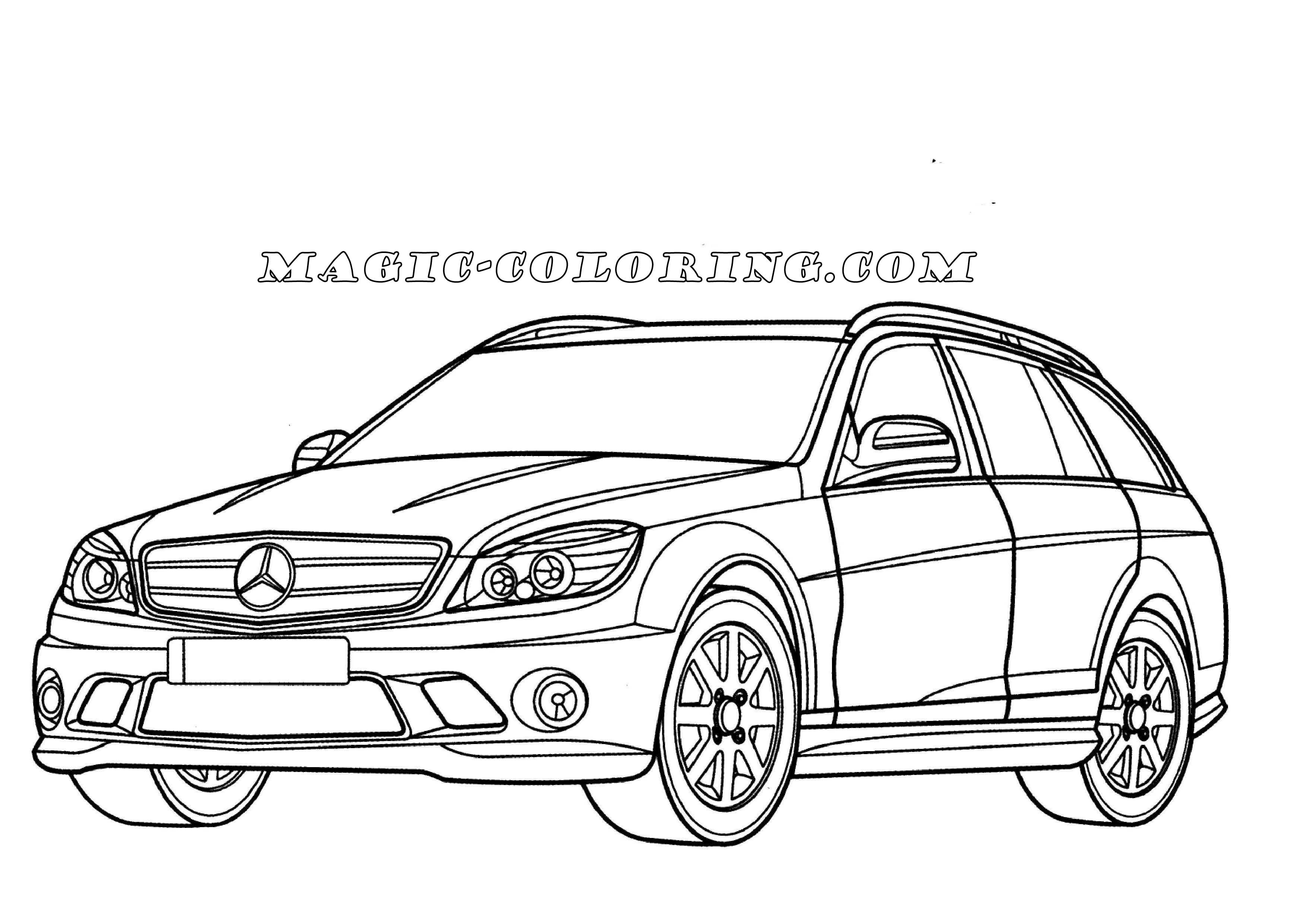 Hyundai Car Coloring Pages Collection