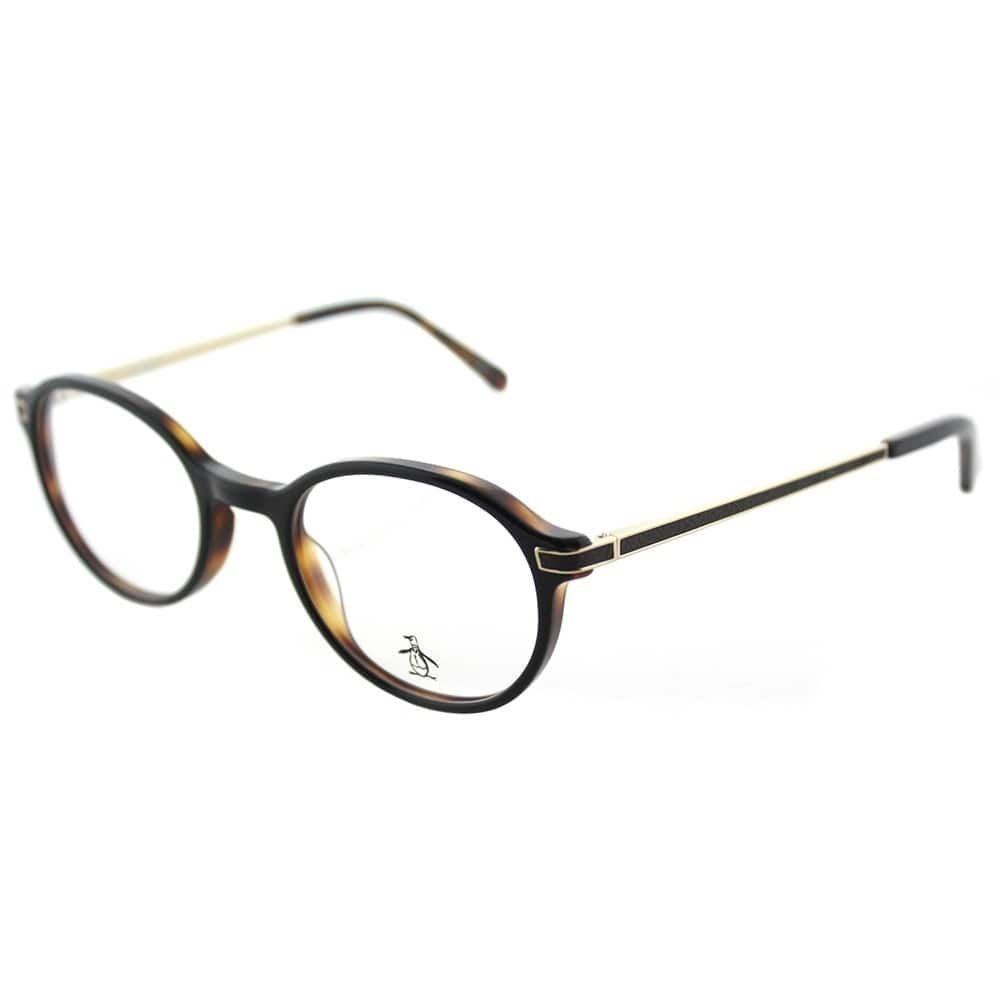 Original Penguin Round The Div BT Black Tortoise Frame Eyeglasses ...