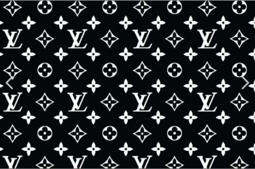 Custom Louis Vuitton Adhesive Stencil Symbol Sticker For Shoes Decal Window Wall Louis Vuitton Pattern Stencil Stickers Monogram Wallpaper