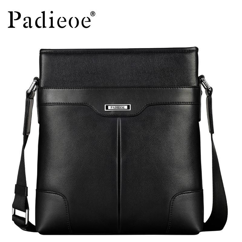 Bag · Padieoe Fashion Men Bag Genuine Leather Business Male Shoulder Bag  Brand Mens Messenger Bags 23ff1ac05cd30