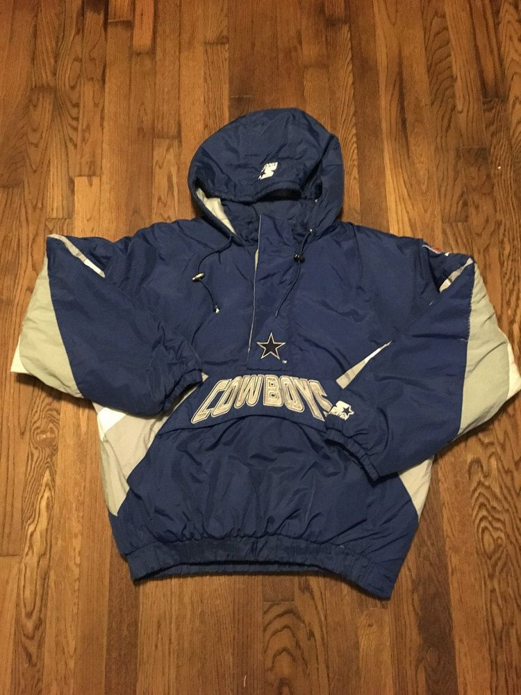 reputable site ac930 7670a Dallas Cowboys Starter Pullover XXL by ThePrivateStockCo on ...