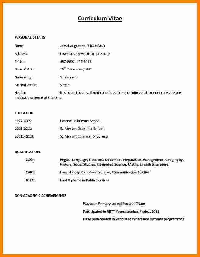 11 Cv Formatt Writting Theorynpractice Resume Format Simple Resume Format Cv Resume Sample