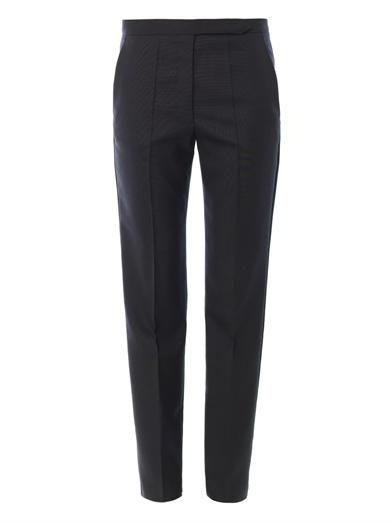 Isabel Marant Nate boyish wool trousers MATCHESFASHION.COM #MATCHESFASHION