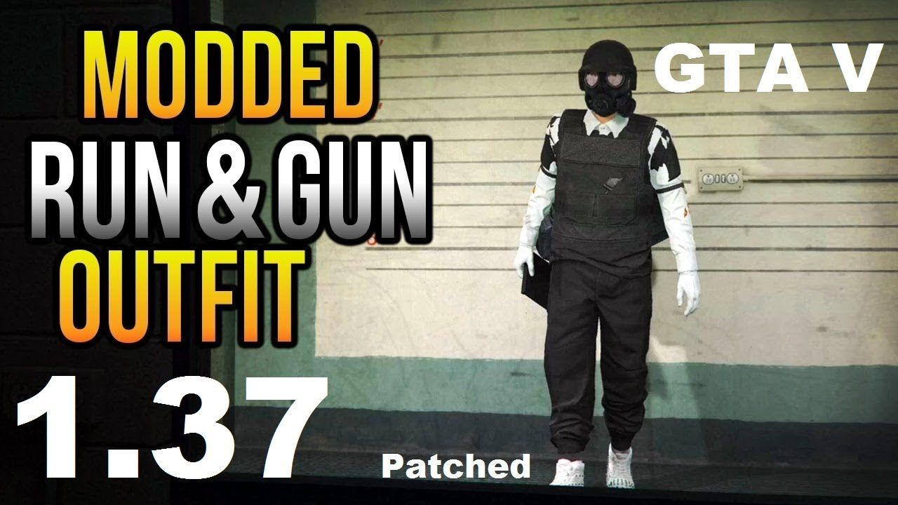 GTA 5 Online How To Get Modded Outfit PS4 After Patch 1 37