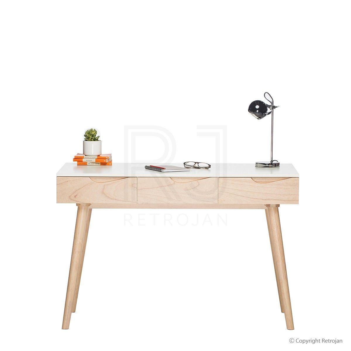 retro office desks. Buy Dino Scandinavian Office Desk | Retro Desks \u2013 Retrojan