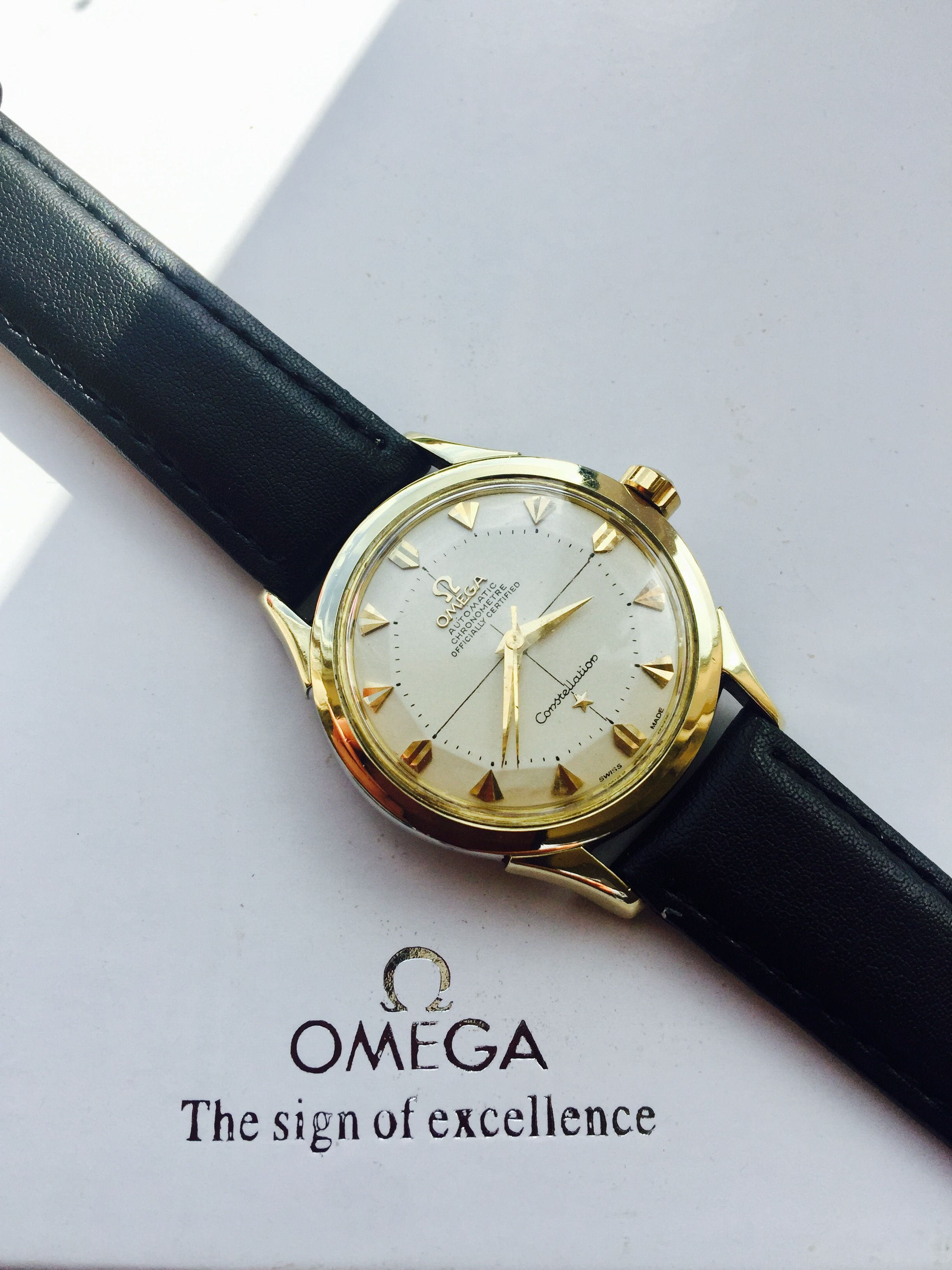 fb9c1a480632 Omega Constellation Cal 561 Automatic vintage men's watch | relojes ...