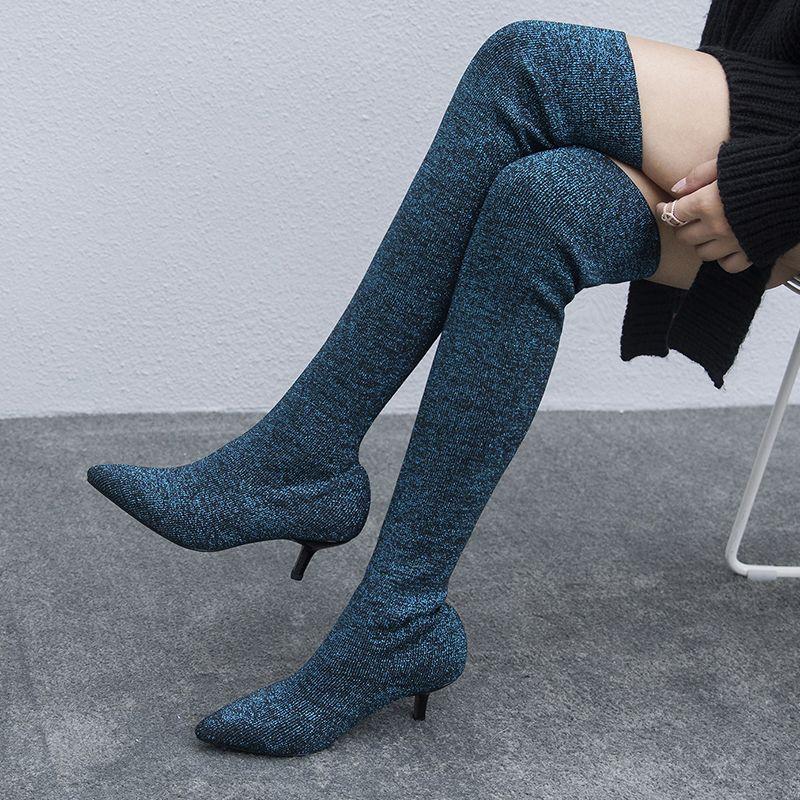 3e1835d4f60 Chiko Brendyn Metallic Heel Sock Ankle Boots