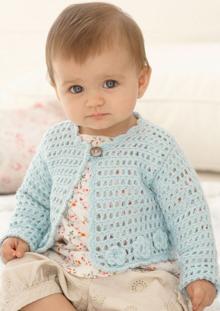7c7a793f09c9 Cardigans and Hat in Sirdar Snuggly 4 Ply 50g - 1900 - Downloadable ...