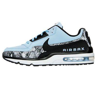 sports shoes b49a4 c56fe Nike Air Max LTD 3 Premium Mens 695484-401 Aluminum Blue Running Shoes Size  11.5