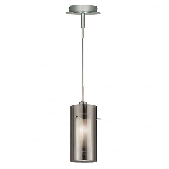 Duo Smoked Glass Single Drop Pendant Kitchen Lights Pinterest - Single hanging kitchen lights